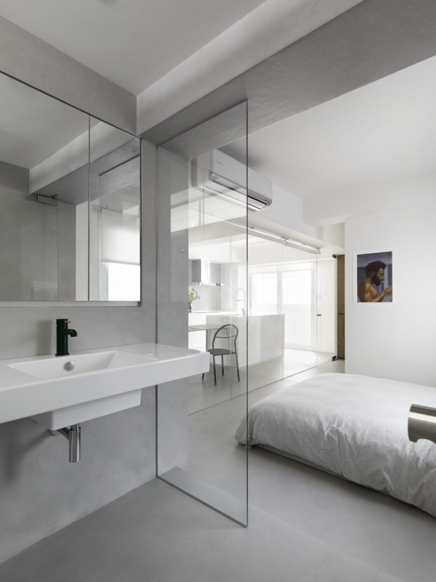 """Chang's Apartment"" un studio-appartement à Taipei par Two Books Design 4"
