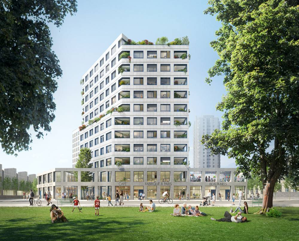 Chapelle International : Espaces Ferroviaires et Legendre Immobilier signent l'acte de vente du programme Impulsion 1